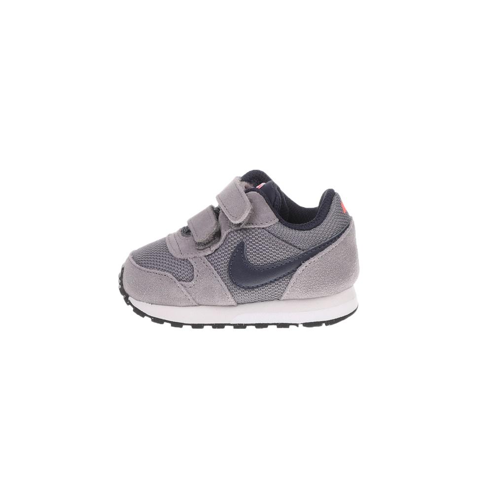 NIKE – Βρεφικά αθλητικά παπούτσια NIKE MD RUNNER 2 (TDV) γκρι
