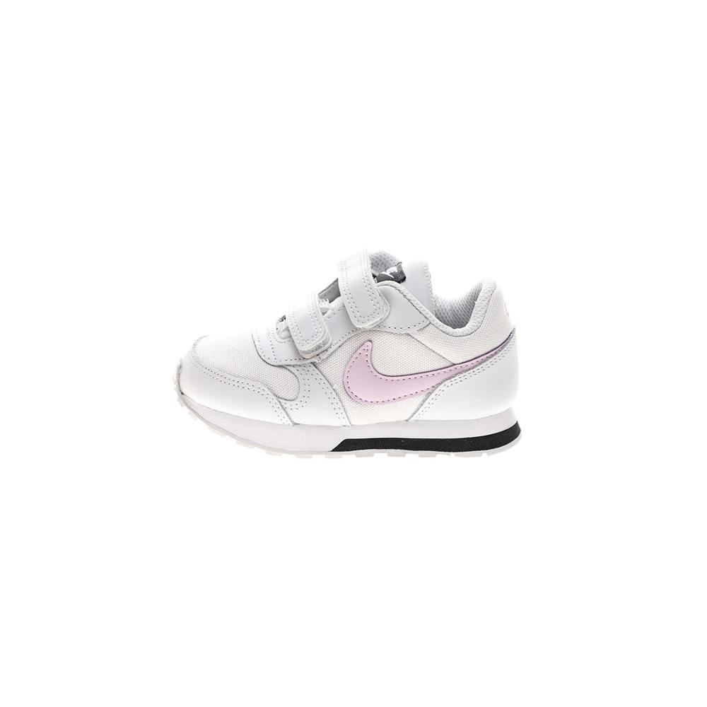 NIKE – Βρεφικά αθλητικά παπούτσια NIKE MD RUNNER 2 (TDV) γκρι ροζ