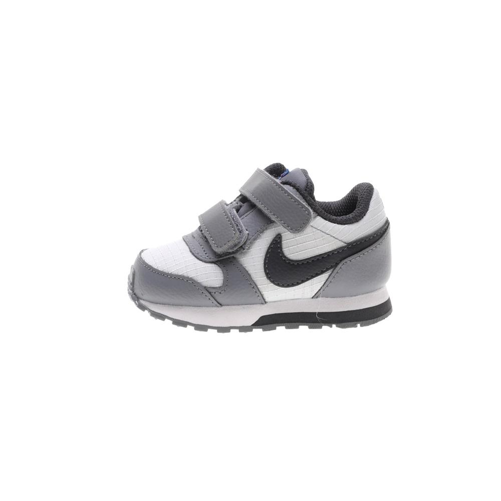 NIKE – Βρεφικά αθλητικά παπούτσια NIKE MD RUNNER 2 (TDV) γκρι ασημί