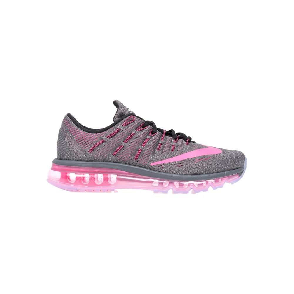 3bcbc6de238 NIKE – Γυναικεία αθλητικά παπούτσια NIKE AIR MAX 2016 γκρι-ροζ