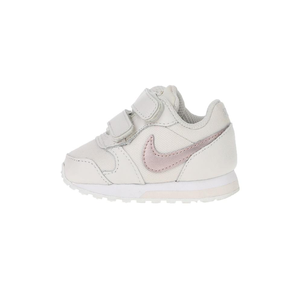 NIKE – Βρεφικά παπούτσια NIKE MD RUNNER 2 (TDV) λευκά