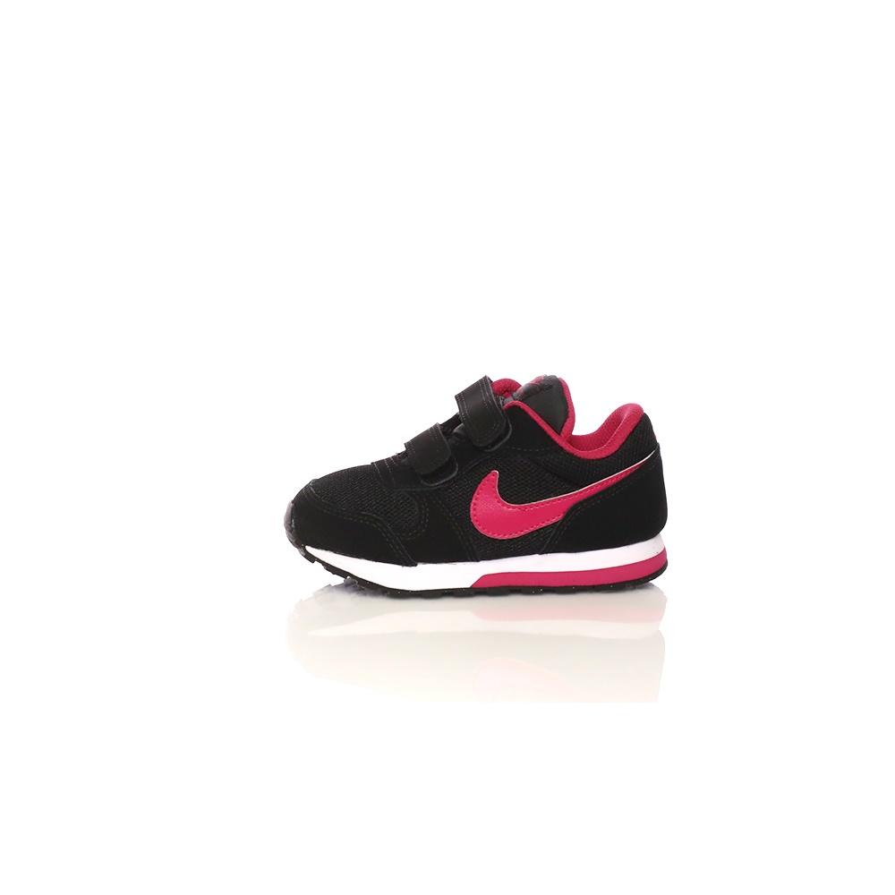 NIKE – Βρεφικά παπούτσια NIKE MD RUNNER 2 (TDV) μαύρα