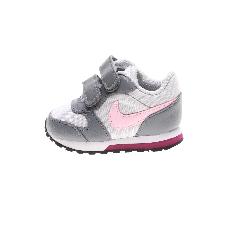 NIKE – Βρεφικά παπούτσια NIKE MD RUNNER 2 (TDV) γκρι-ροζ