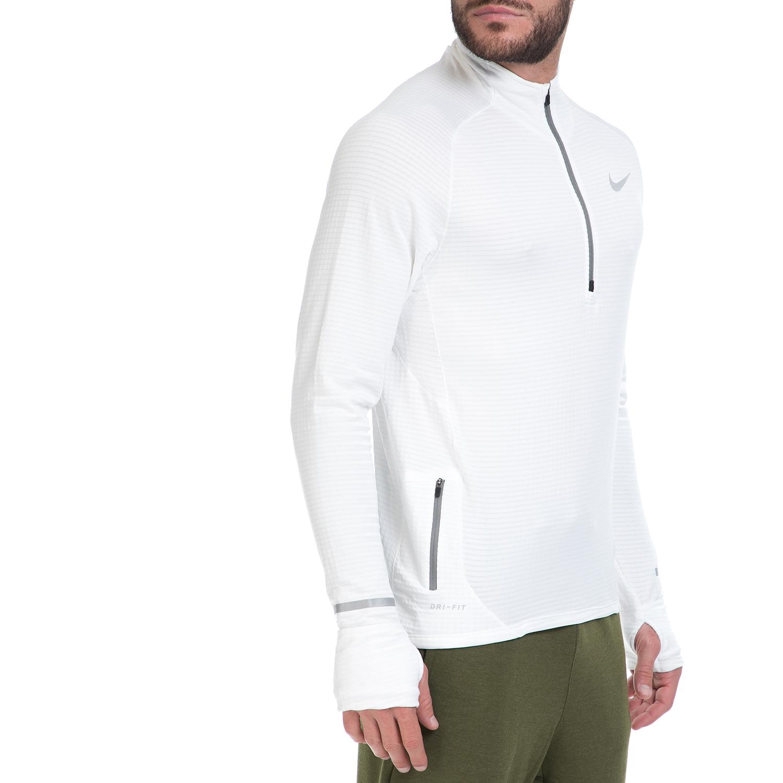 9b456314ac NIKE - Ανδρική αθλητική μπλούζα NIKE ELEMENT SPHERE HZ λευκή ...