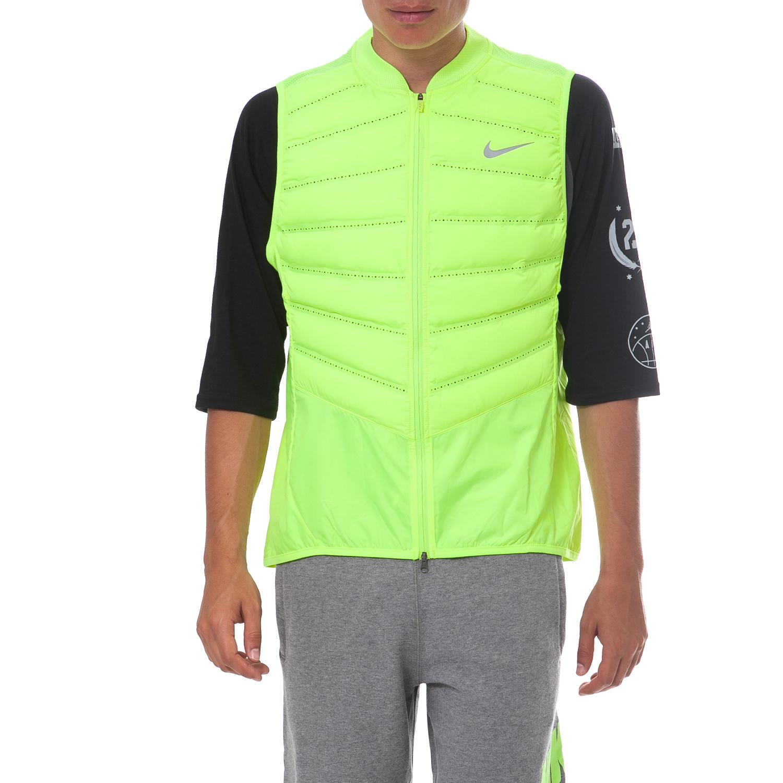 c306278558 NIKE - Ανδρικό μπουφάν Nike κίτρινο