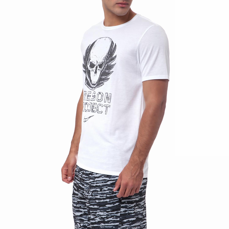 NIKE - Ανδρική μπλούζα Nike λευκή 488efadcdd9
