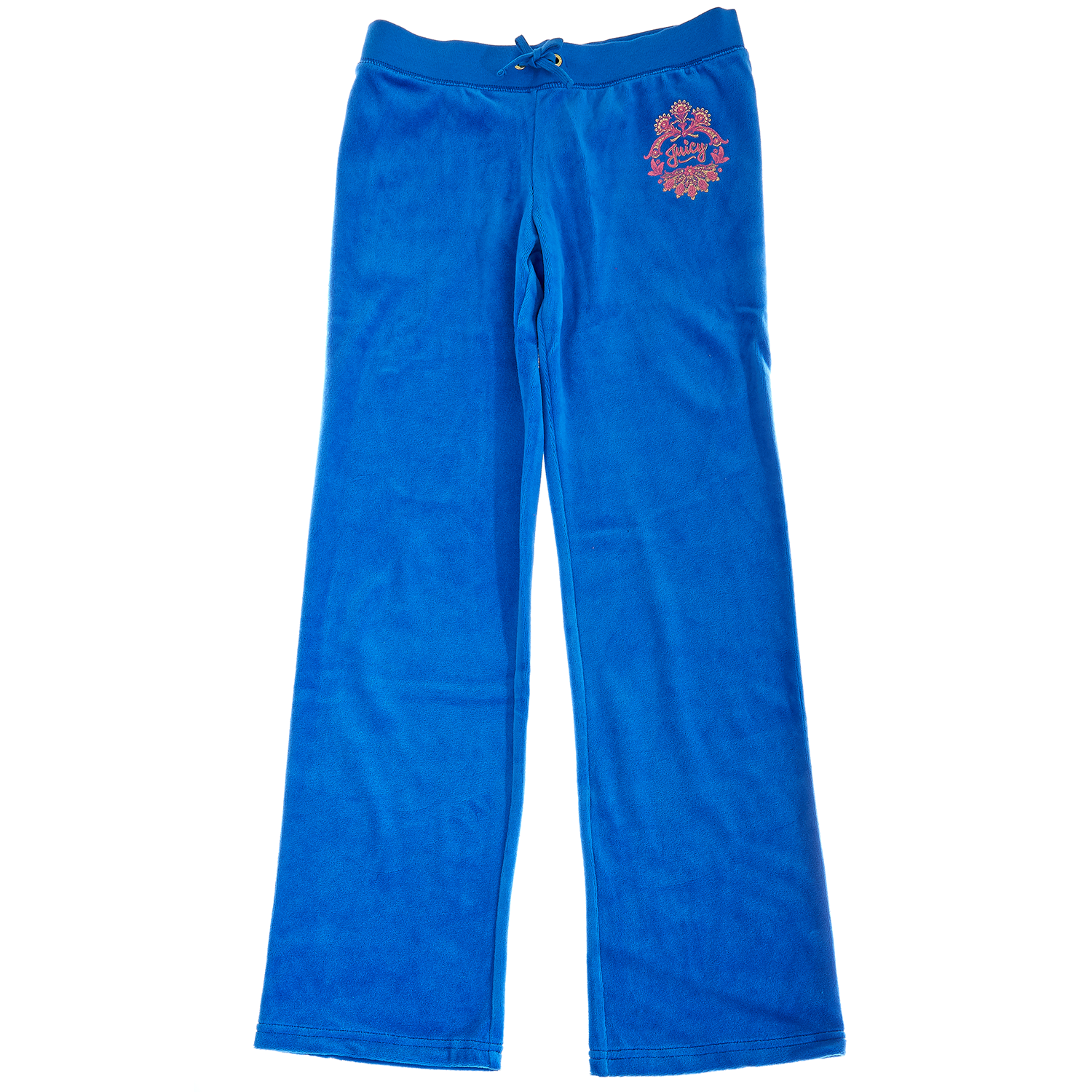 JUICY COUTURE KIDS – Παιδικό παντελόνι JUICY COUTURE μπλε. Κατάστημα  Factory  Outlet d551f465e0d