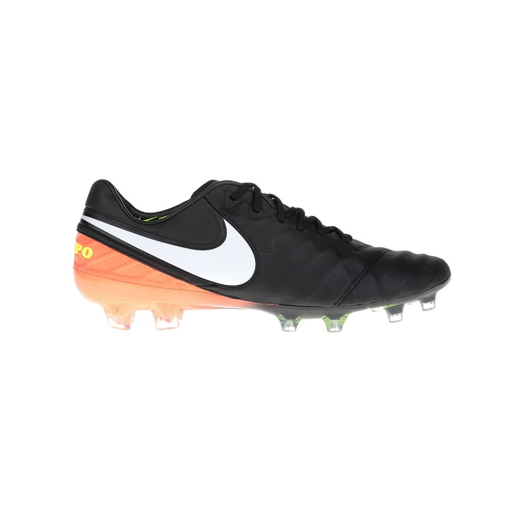 NIKE – Ανδρικά παπούτσια NIKE TIEMPO LEGEND VI FG μαύρα-πορτοκαλί