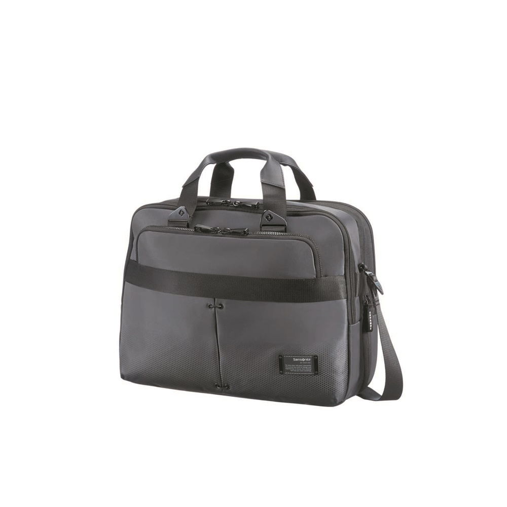 SAMSONITE - Τσάντα laptop CITYVIBE BAILHANDLE γκρι ανδρικά αξεσουάρ τσάντες σακίδια χαρτοφύλακες τσάντες laptop