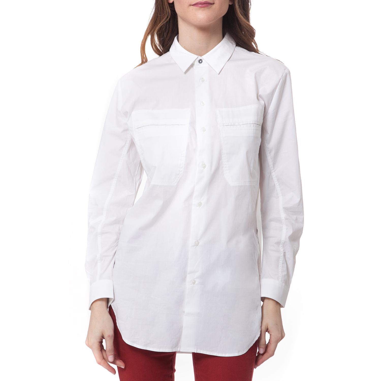 ae5b0796fe84 G-STAR - Γυναικείο πουκάμισο G-STAR RAW λευκό