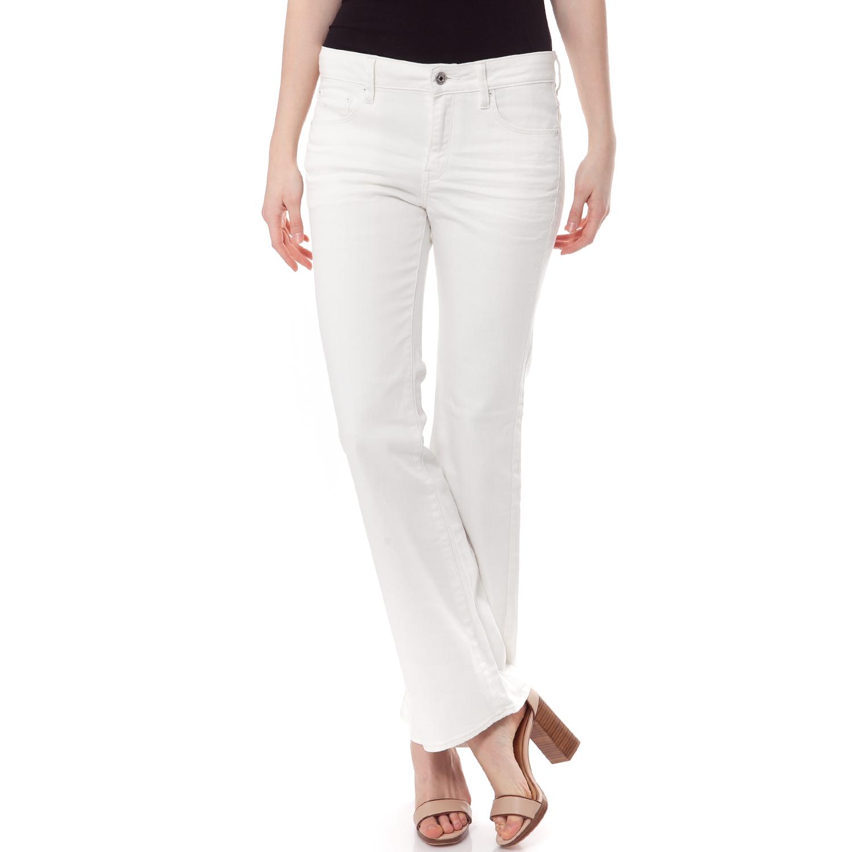 7758c5a8ad G-STAR RAW - Γυναικείο τζιν παντελόνι 3301 G-Star Raw λευκό ...