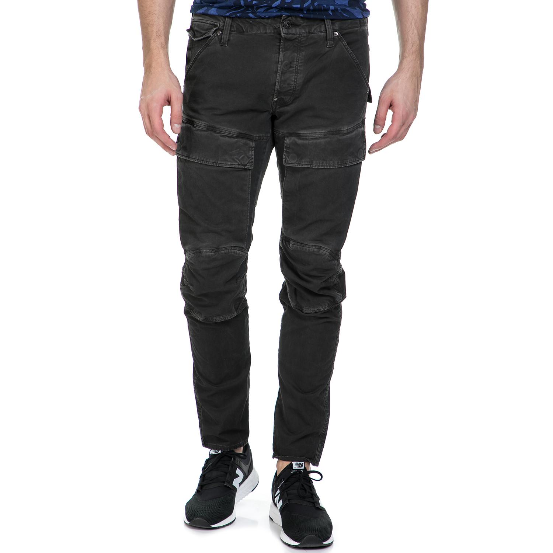 G-STAR RAW - Ανδρικό παντελόνι G-Star Raw Air Defence 5620 3D Slim γκρι ανδρικά ρούχα παντελόνια cargo