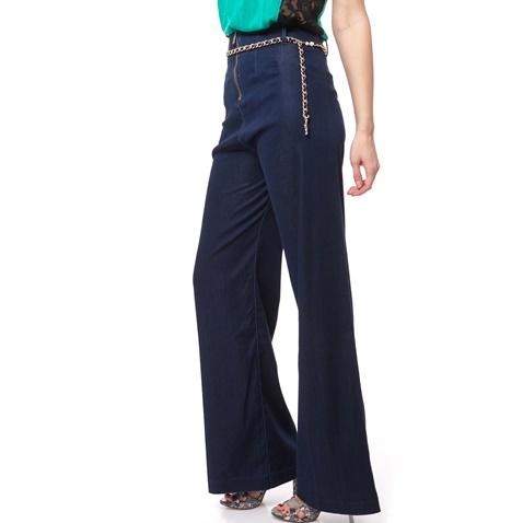 GUESS-Γυναικείο τζιν παντελόνι CLEA PALAZZO Guess μπλε