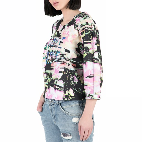 8150cb6064f8 Γυναικεία μακρυμάνικη μπλούζα GUESS με μοτίβο (1432037.0-0505 ...