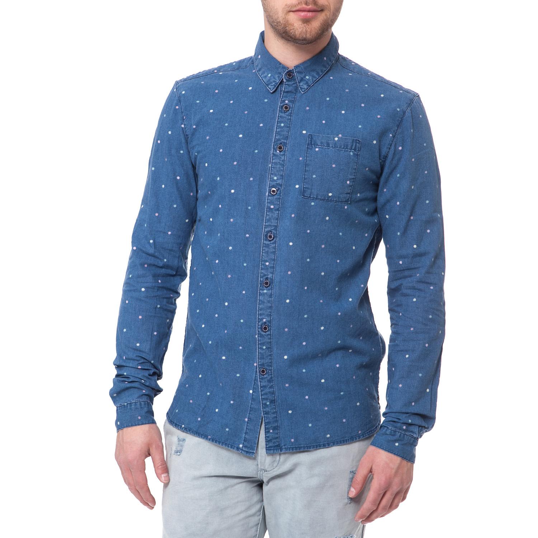 fadc9ee50d4c SCOTCH   SODA - Ανδρικό πουκάμισο Scotch   Soda μπλε 1434269.0-0104