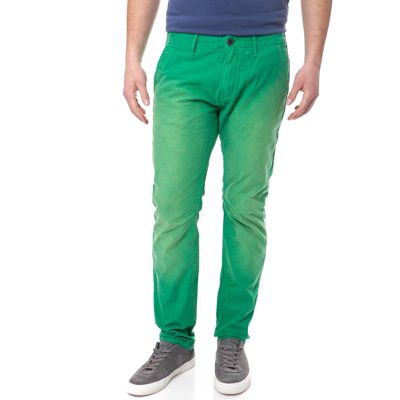 SCOTCH & SODA - Ανδρικό παντελόνι Scotch & Soda Theon Chino πράσινο ανδρικά ρούχα παντελόνια chinos