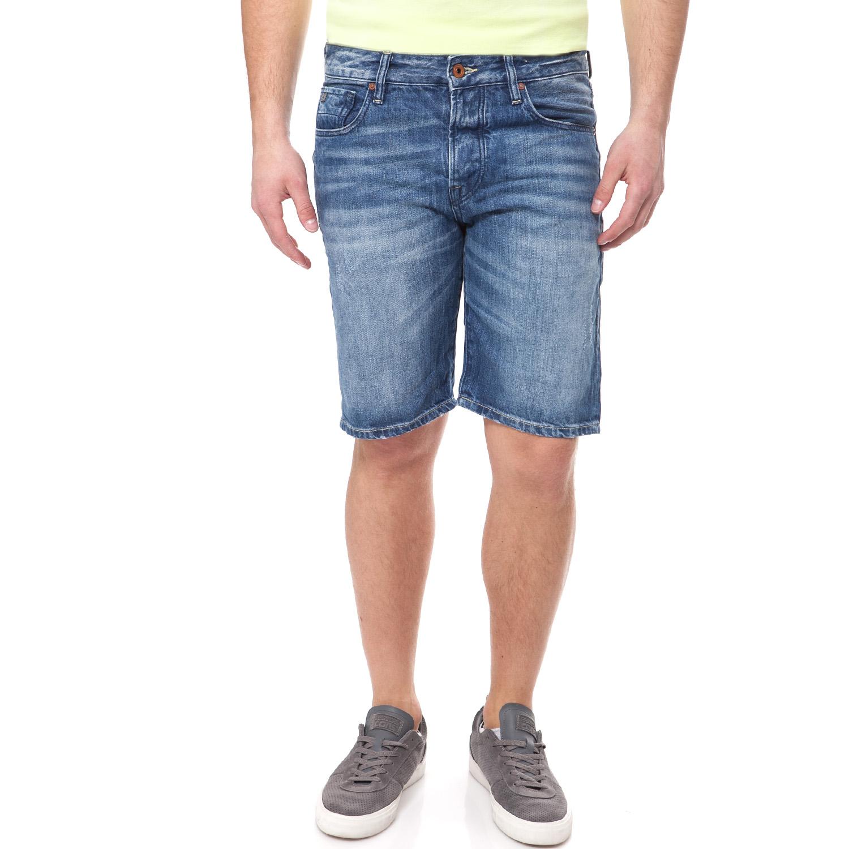 SCOTCH & SODA - Ανδρική βερμούδα Scotch & Soda μπλε ανδρικά ρούχα σορτς βερμούδες casual jean