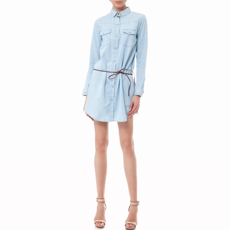 SCOTCH & SODA - Γυναικείο φόρεμα Maison Scotch γαλάζιο γυναικεία ρούχα φορέματα μίνι