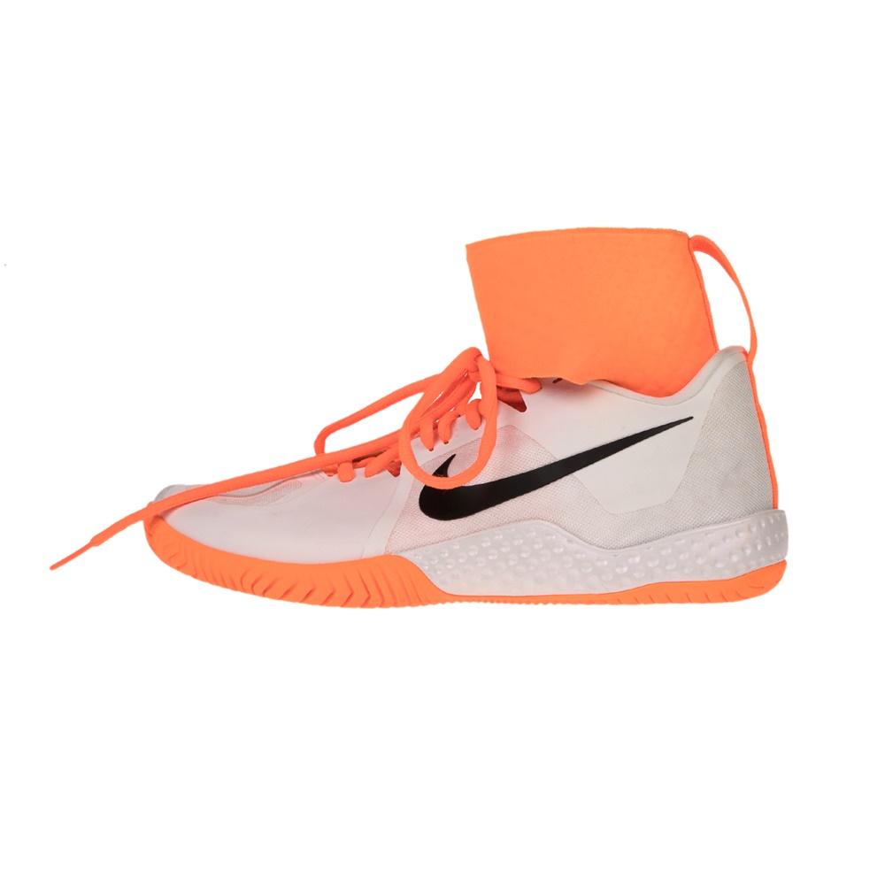NIKE – Γυνιακεία παπούτσια NIKE FLARE λευκά πορτοκαλί