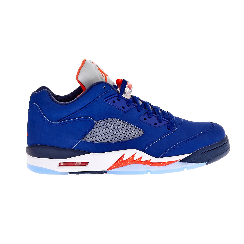 NIKE – Ανδρικά αθλητικά παπούτσια NIKE AIR JORDAN 5 RETRO LOW μπλε- ΑΠΟ ΓΚ