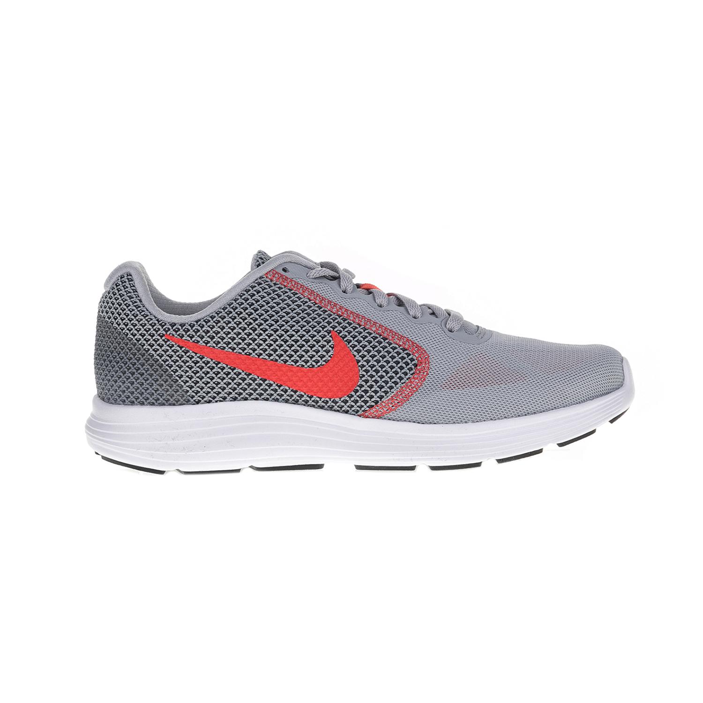 NIKE – Ανδρικά αθλητικά παπούτσια NIKE REVOLUTION 3 γκρι