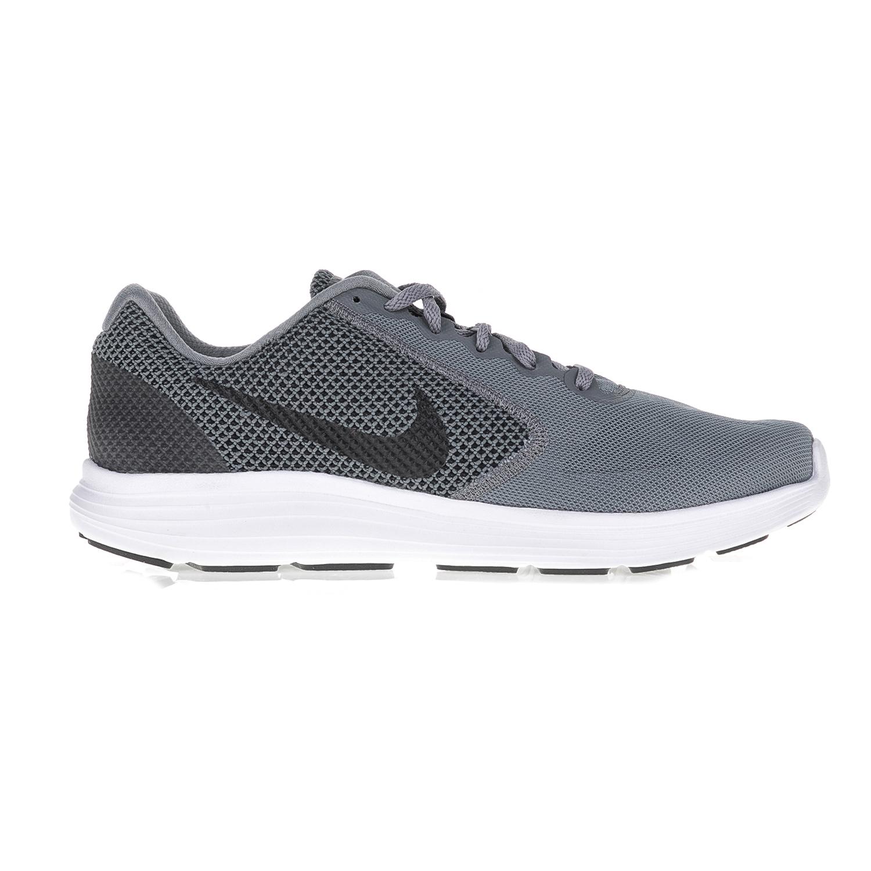 NIKE – Ανδρικά αθλητικά παπούτσια NIKE REVOLUTION 3 γκρι-λευκά