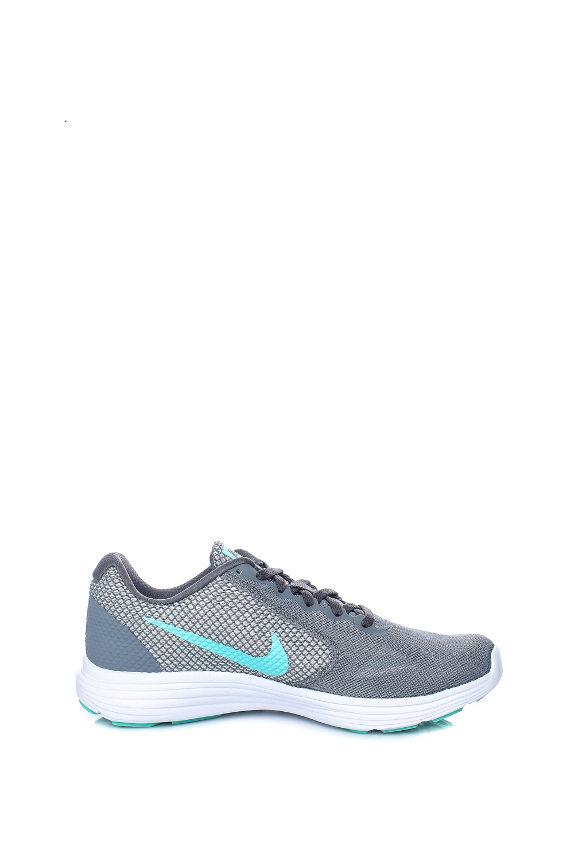 NIKE – Γυναικεία παπούτσια για τρέξιμο Nike REVOLUTION 3 γκρι-πράσινα