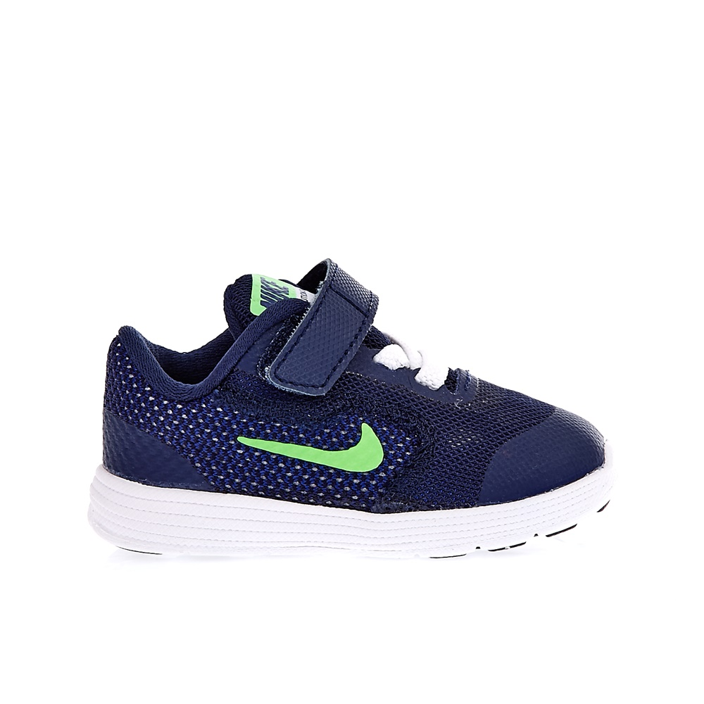 NIKE - Βρεφικά αθλητικά παπούτσια NIKE REVOLUTION 3 σκούρο μπλε παιδικά baby παπούτσια αθλητικά