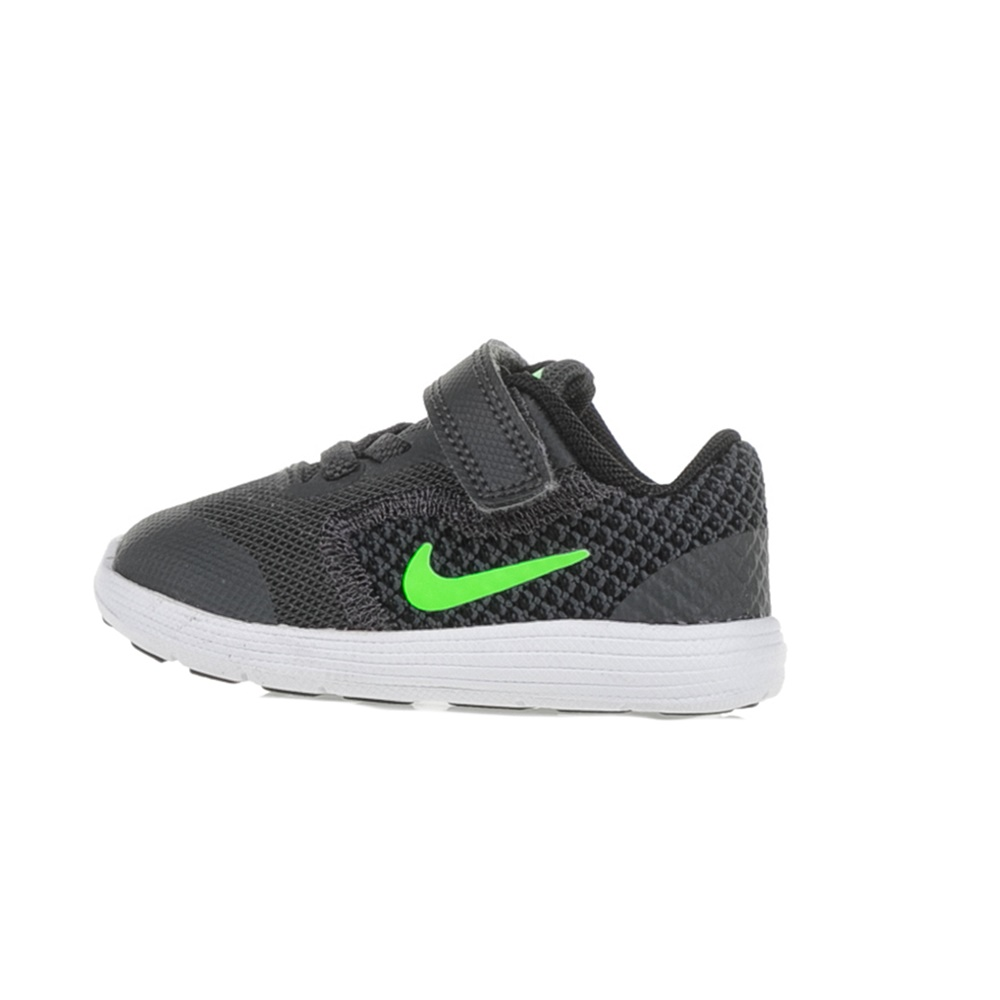 -40% Factory Outlet NIKE – Παιδικά αθλητικά παπούτσια NIKE REVOLUTION 3  (TDV) ανθρακί-πράσινα f4e38891c33
