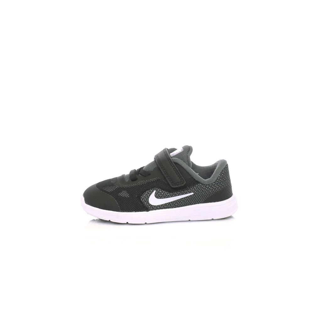 b0d077aca3f NIKE - Παιδικά αθλητικά παπούτσια NIKE REVOLUTION 3 (TDV) μαύρα-γκρι