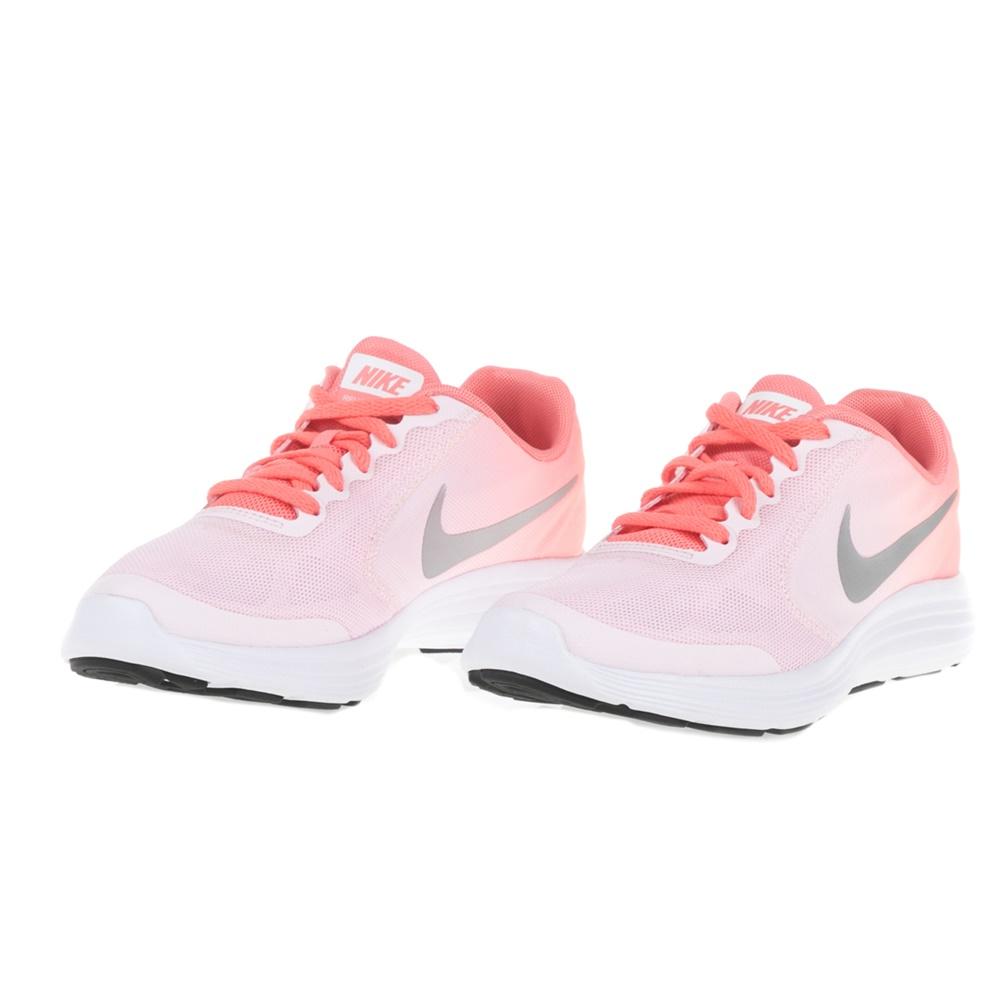 f2d4fd8c993 NIKE - Παιδικά αθλητικά παπούτσια NIKE REVOLUTION 3 (GS) ροζ-λευκά, ΠΑΙΔΙ    ΠΑΠΟΥΤΣΙΑ   ΑΘΛΗΤΙΚΑ