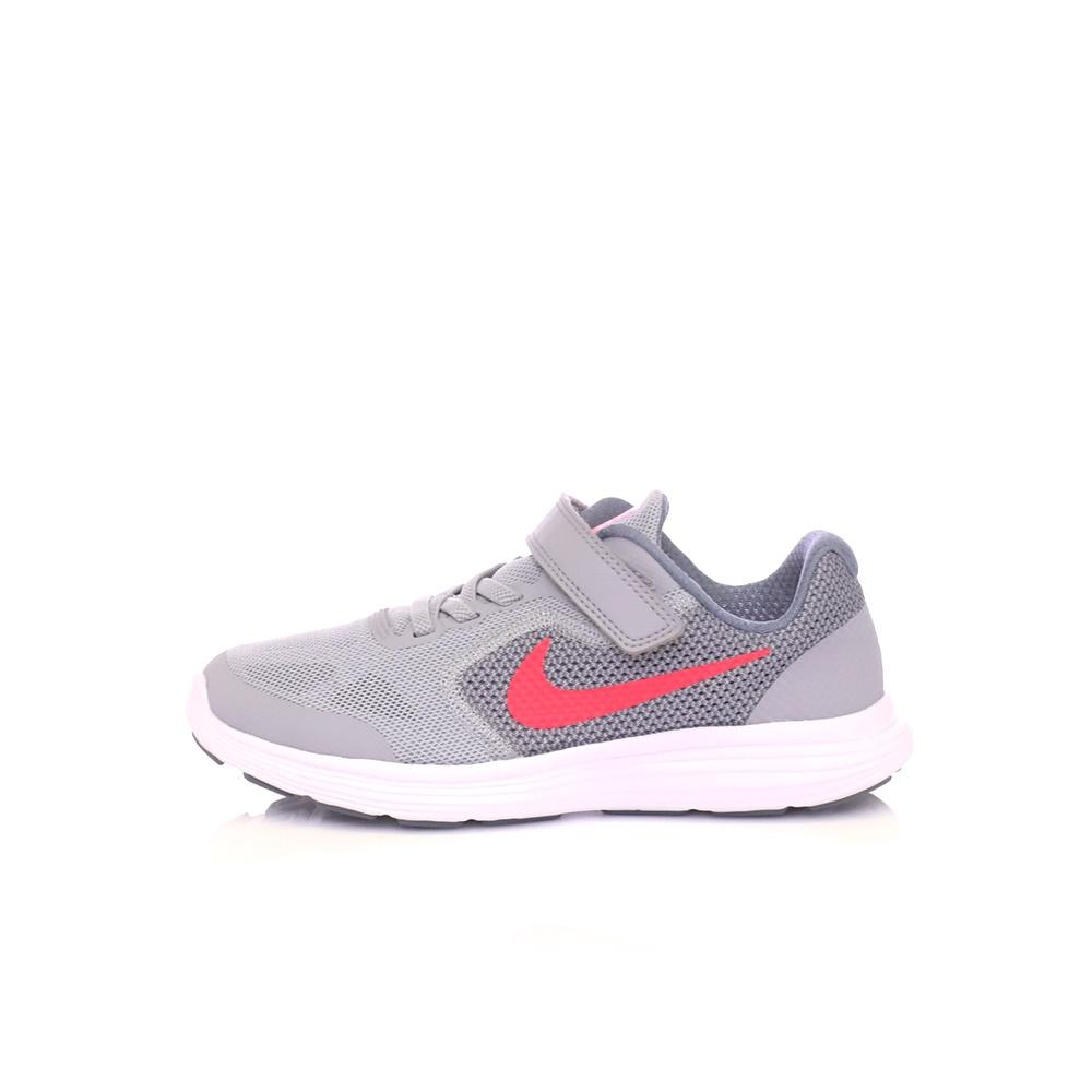 NIKE – Παιδικά παπούτσια NIKE REVOLUTION 3 (PSV) γκρι. Κατάστημα   Factoryoutlet 7ccfb703021