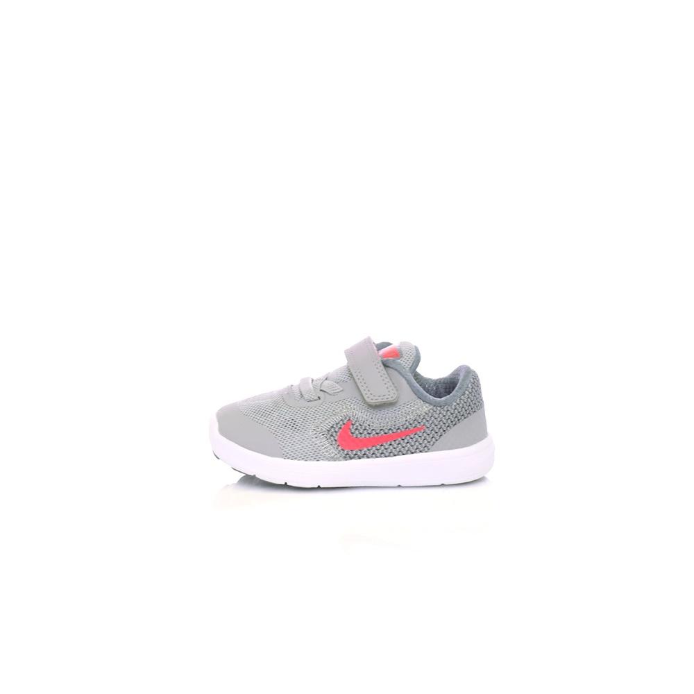 NIKE – Βρεφικά αθλητικά παπούτσια NIKE REVOLUTION 3 (TDV) γκρι