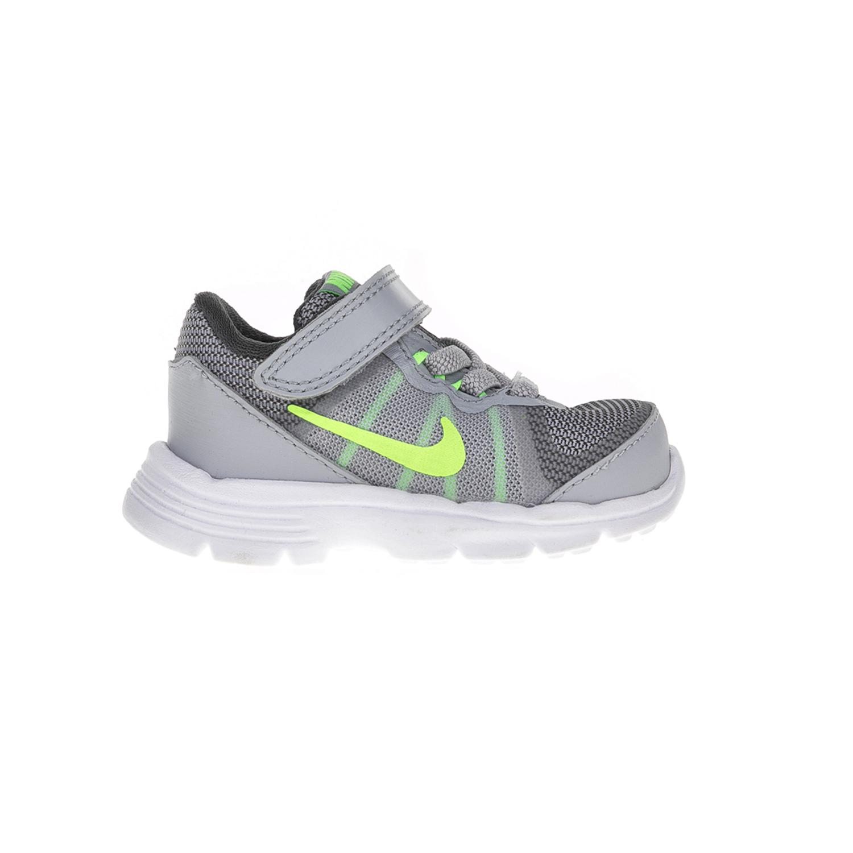 NIKE – Βρεφικά παπούτσια Nike KIDS FUSION (TDV) γκρι-κίτρινα