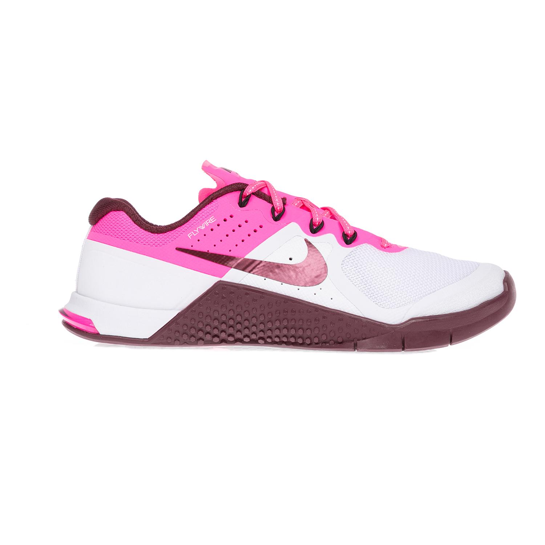 NIKE - Γυναικεία παπούτσια NIKE NIKE METCON 2 άσπρα-ροζ γυναικεία παπούτσια αθλητικά training