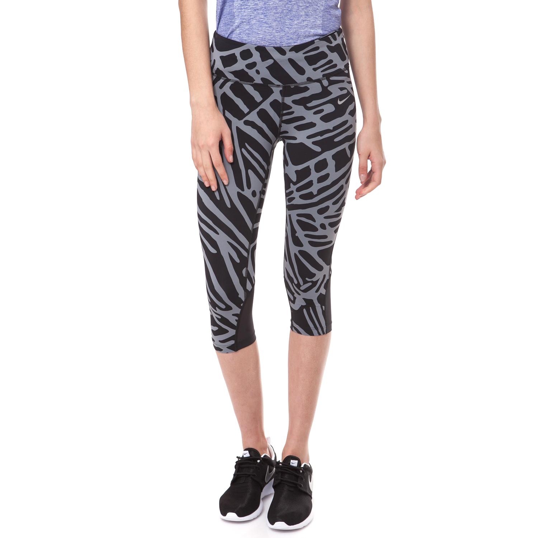 NIKE - Γυναικείο Κολάν Nike POWER EPIC LUX Κάπρι Μαύρο-Γκρι