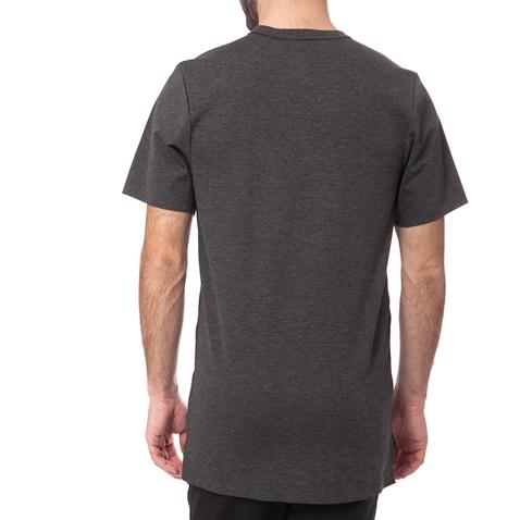 ca55979f2828 Ανδρικό t-shirt Nike LUX EXTENDED TOP κοντομάνικο γκρι (1435968.1 ...