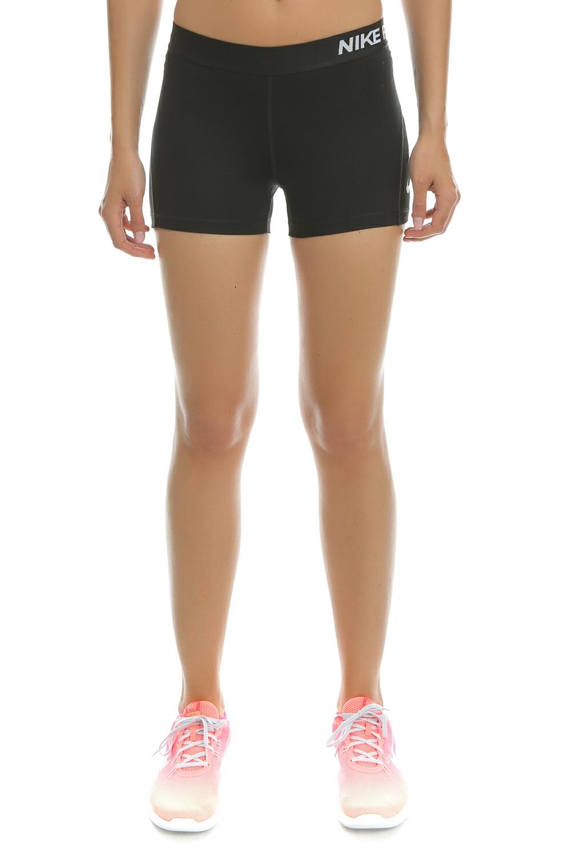 NIKE - Γυναικείο αθλητικό κοντό κολάν Nike PRO SHORT 3IN μαύρο γυναικεία ρούχα σορτς βερμούδες αθλητικά