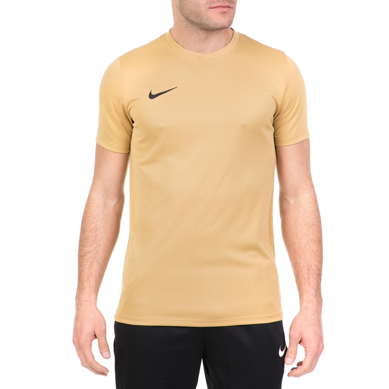 121ded2156d9 NIKE - Ανδρική ποδοσφαιρική μπλούζα Nike Dry χρυσή