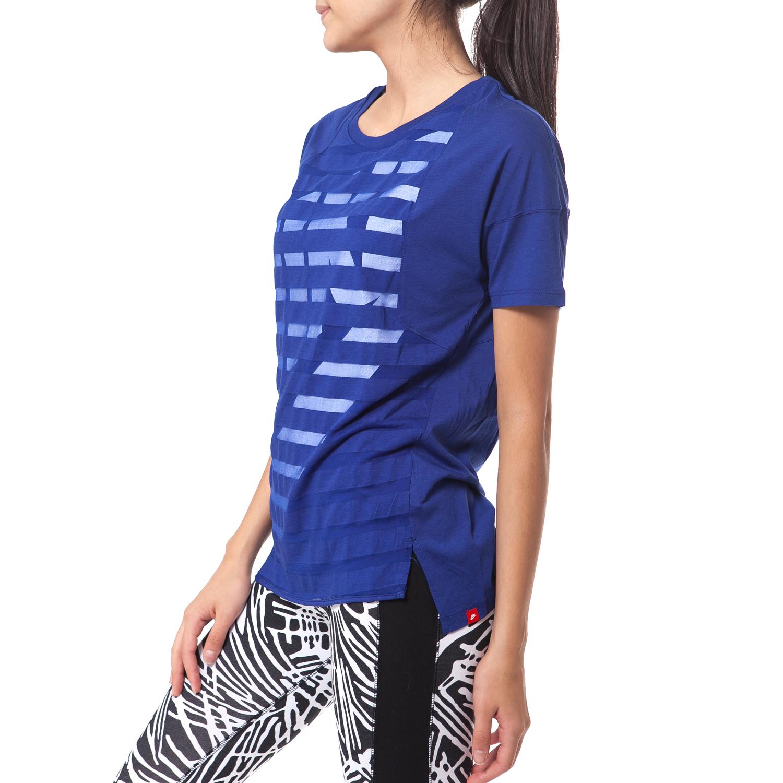 845e7353716a NIKE - Γυναικεία μπλούζα Nike μπλε