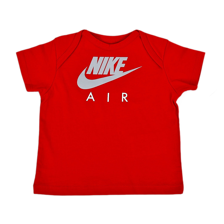 Nike - Βρεφική Μπλούζα Nike Κόκκινη. Factory Outlet. Βαμβακερή μπλούζα με κοντά  μανίκια ... 99b049deaf2