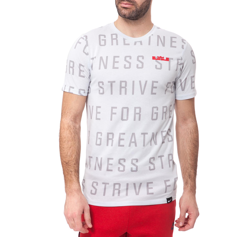 NIKE - Ανδρική μπλούζα NIKE ημίλευκη ανδρικά ρούχα αθλητικά t shirt