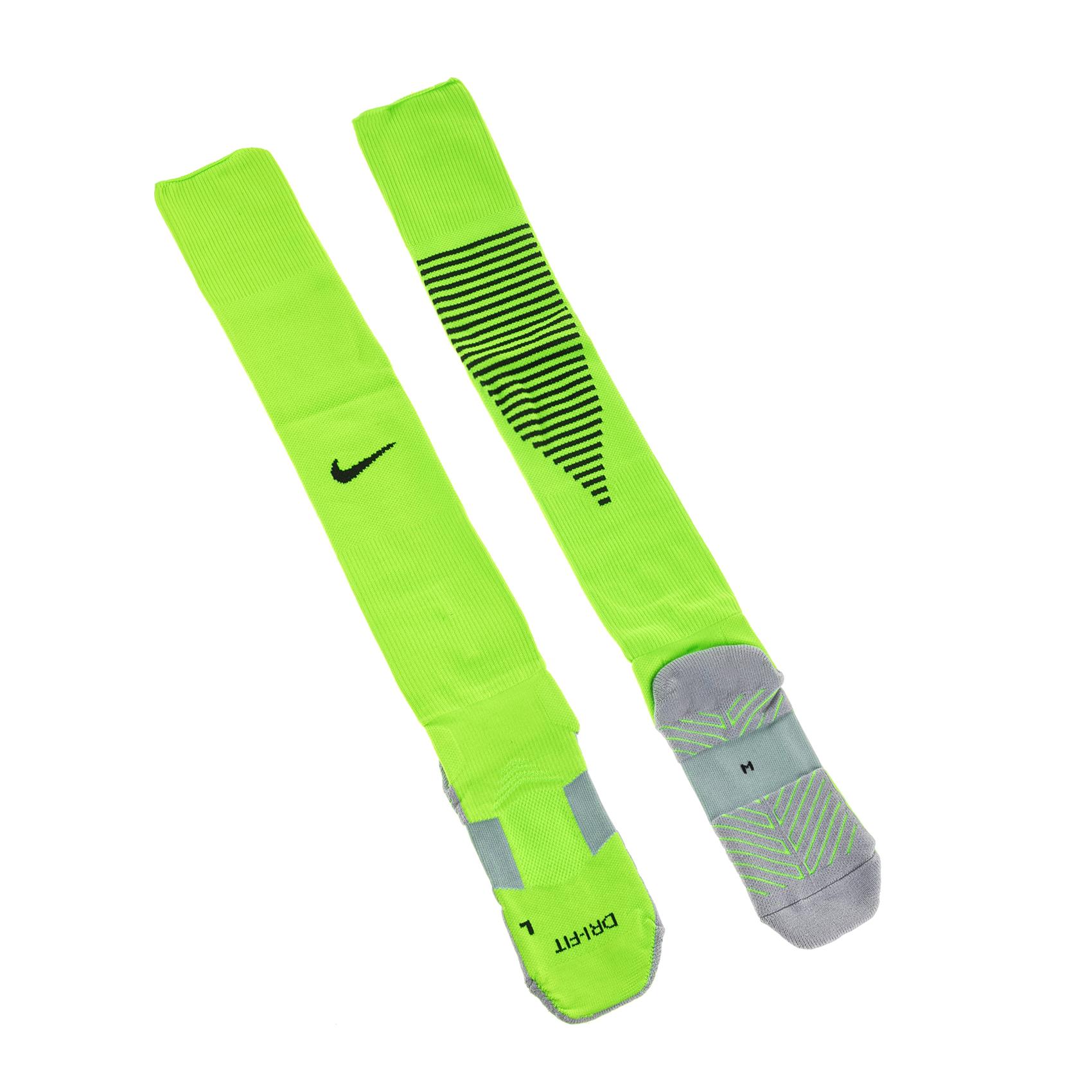 NIKE - Unisex κάλτσες Nike SQUAD OTC πράσινες γυναικεία αξεσουάρ κάλτσες