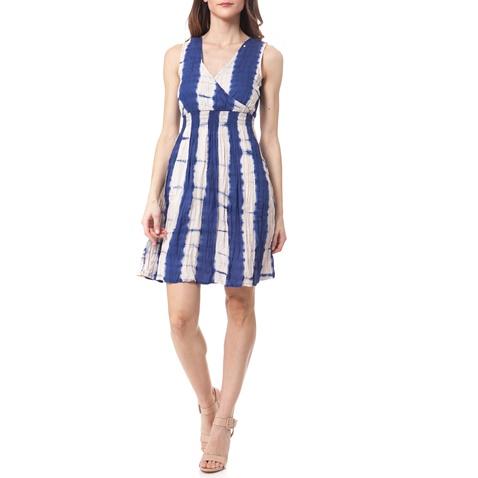 b0fb588449e8 Γυναικείο φόρεμα Gas μπλε-εκρού (1437568.0-0082)