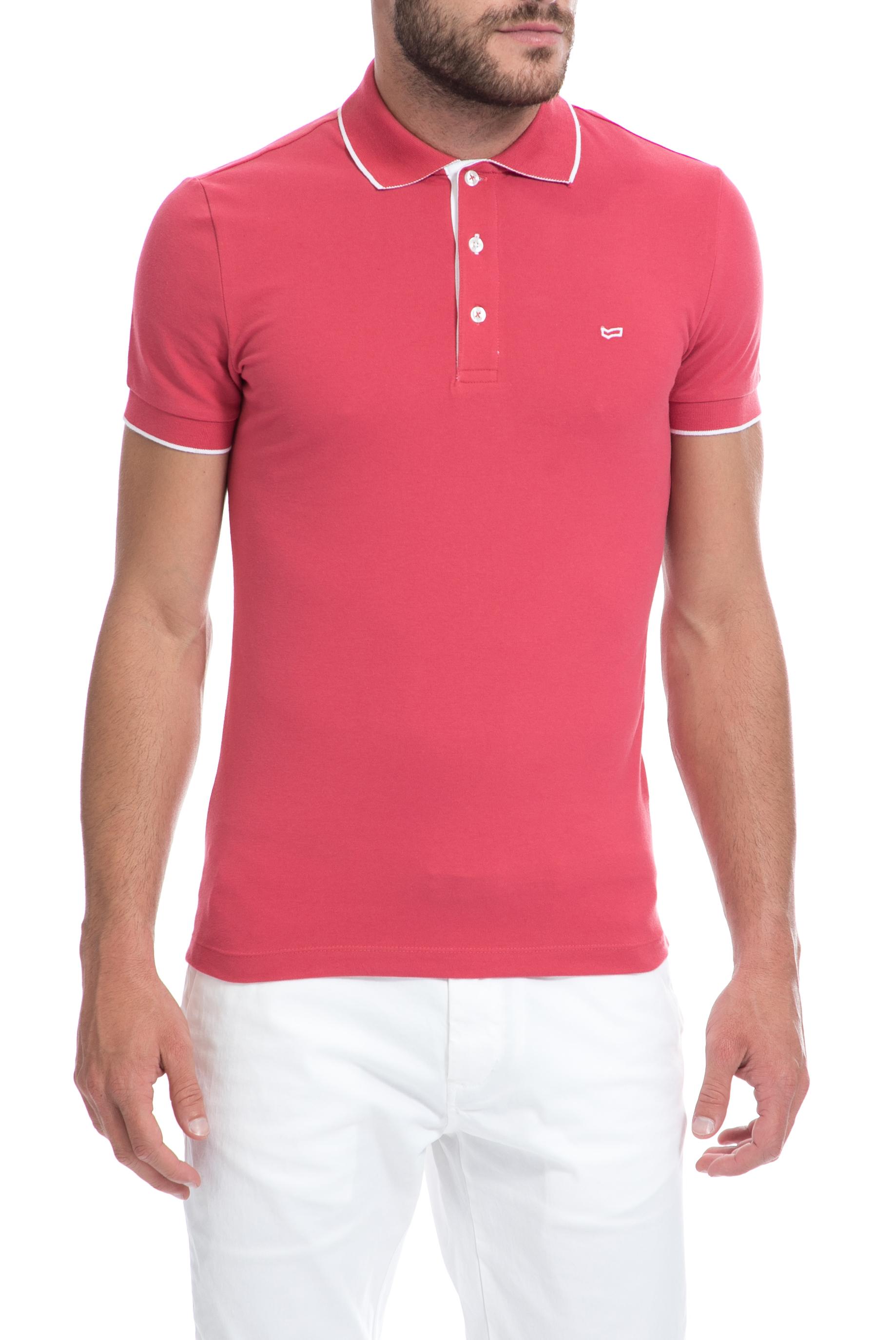 GAS - Ανδρική μπλούζα Gas ροζ