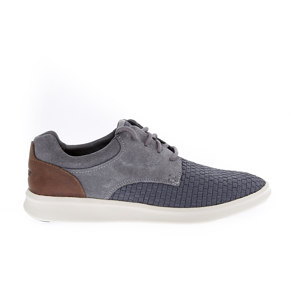 UGG - Ανδρικά δετά παπούτσια UGG Hepner γκρι ανδρικά παπούτσια μοκασίνια loafers