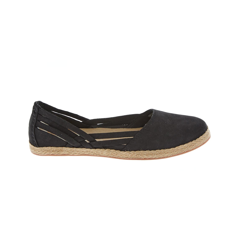 UGG - Γυναικείες εσπαντρίγιες UGG TIPPIE μαύρες γυναικεία παπούτσια μοκασίνια μπαλαρίνες μοκασίνια