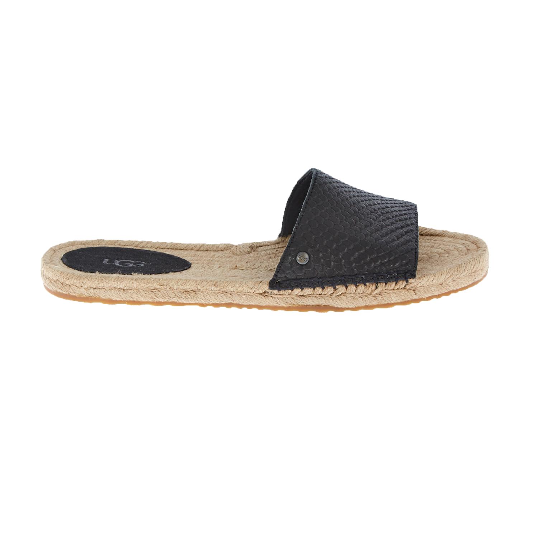 UGG – Γυναικεία flat mules UGG CHERRY EXOTIC μαύρα