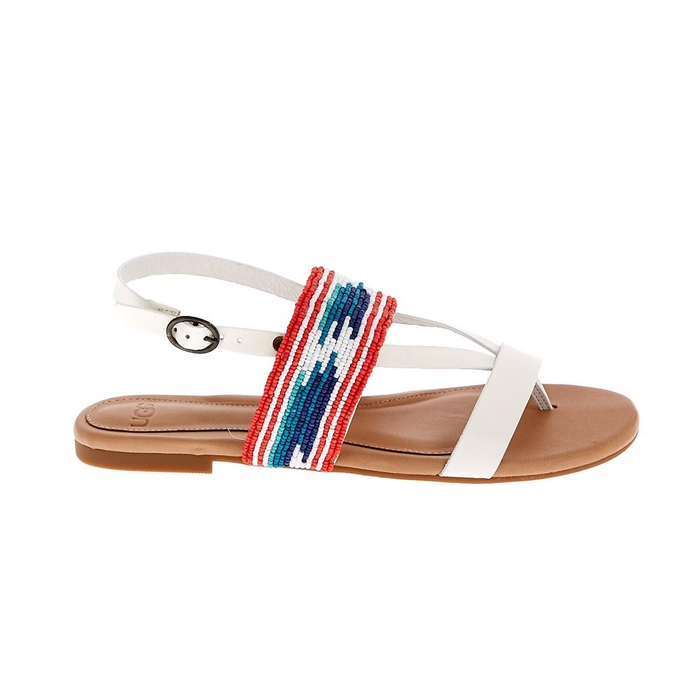 UGG - Γυναικεία σανδάλια UGG VERONA SERAPE λευκά γυναικεία παπούτσια σανδάλια