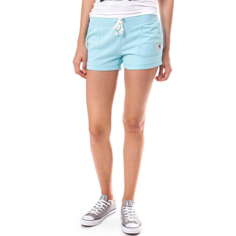 CONVERSE - Γυναικείο σορτς Converse μπλε γυναικεία ρούχα σορτς βερμούδες αθλητικά